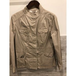 Ladies Military Style Utility Light Weight jacket